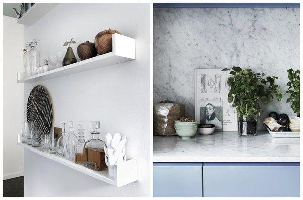 25 beste idee n over keuken rekken op pinterest open keukenrekken open planken en slaapkamer - Keukenmeubelen rustiek ...