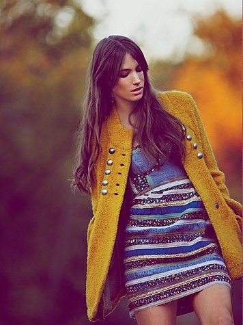 Autumn yellows begin to creep in.: Bell Sleeves, Style, Freepeople, Color, Dress, Sergeant Bell, Clothing Boutique, Free People