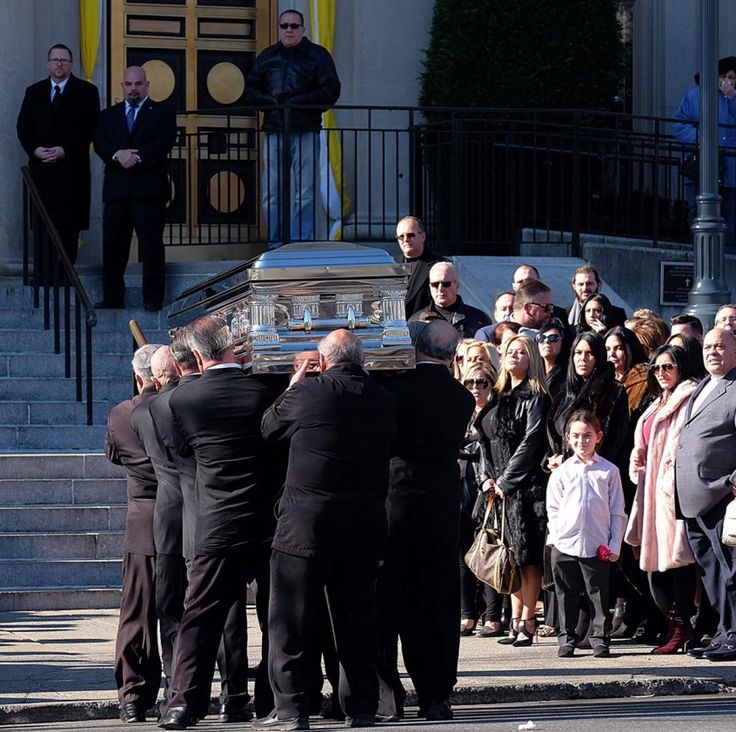 Mourners pay their respects to reality star 'Big Ang' Raiola