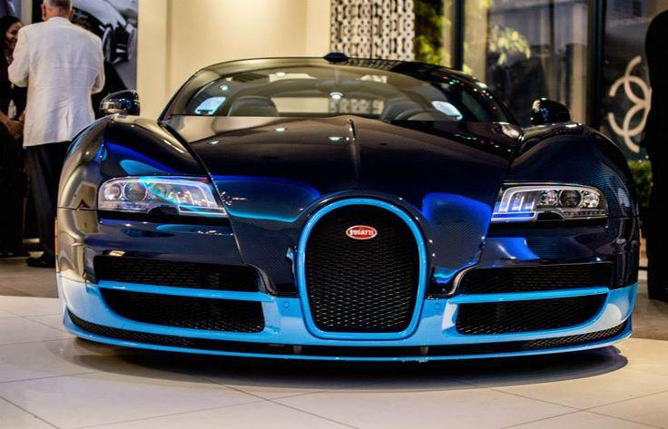 Bugatti Veyron Grand Sport Vitesse 1200 Hp Cobalt Blue