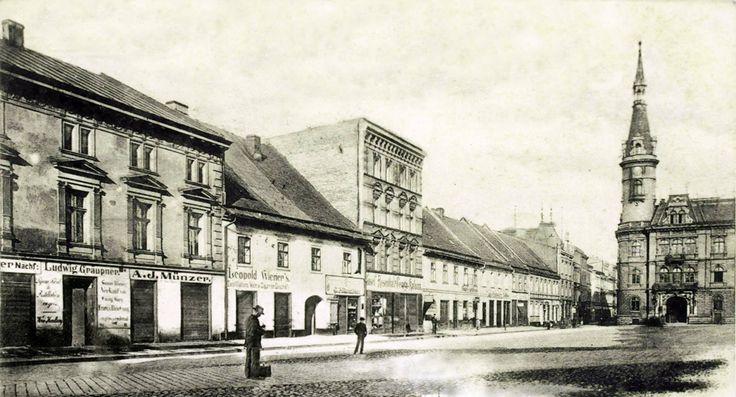 Rok ok 1900 Rynek