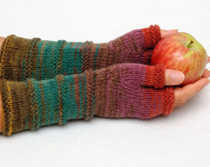 Brei Vingerloze handschoenen fingerless Mittens Arm Warmers vriendin cadeau | voor | haar Winter Handschoenen Valentines cadeau voor vrouwen de ideeën van de gift van de Womens