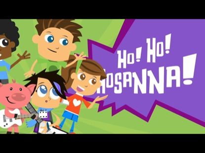 Hosanna Rock | Yancy  A fun song for Easter and every other day of the year! Even your volunteers will have as much fun as your kids singing along and paying air guitar with this one!