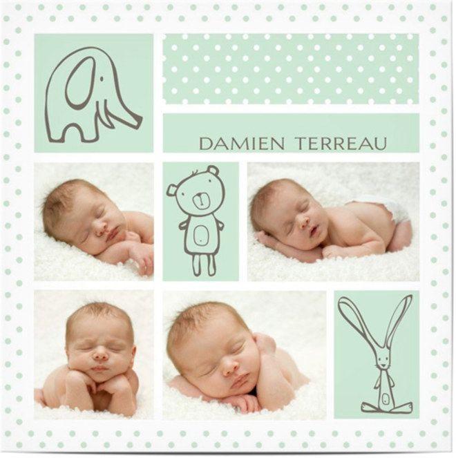 Le faire-part de naissance annonce la venue au monde de bébé, à sa famille et son entourage proche. Traditionnellement, il s'envoie un mois après la naissance...