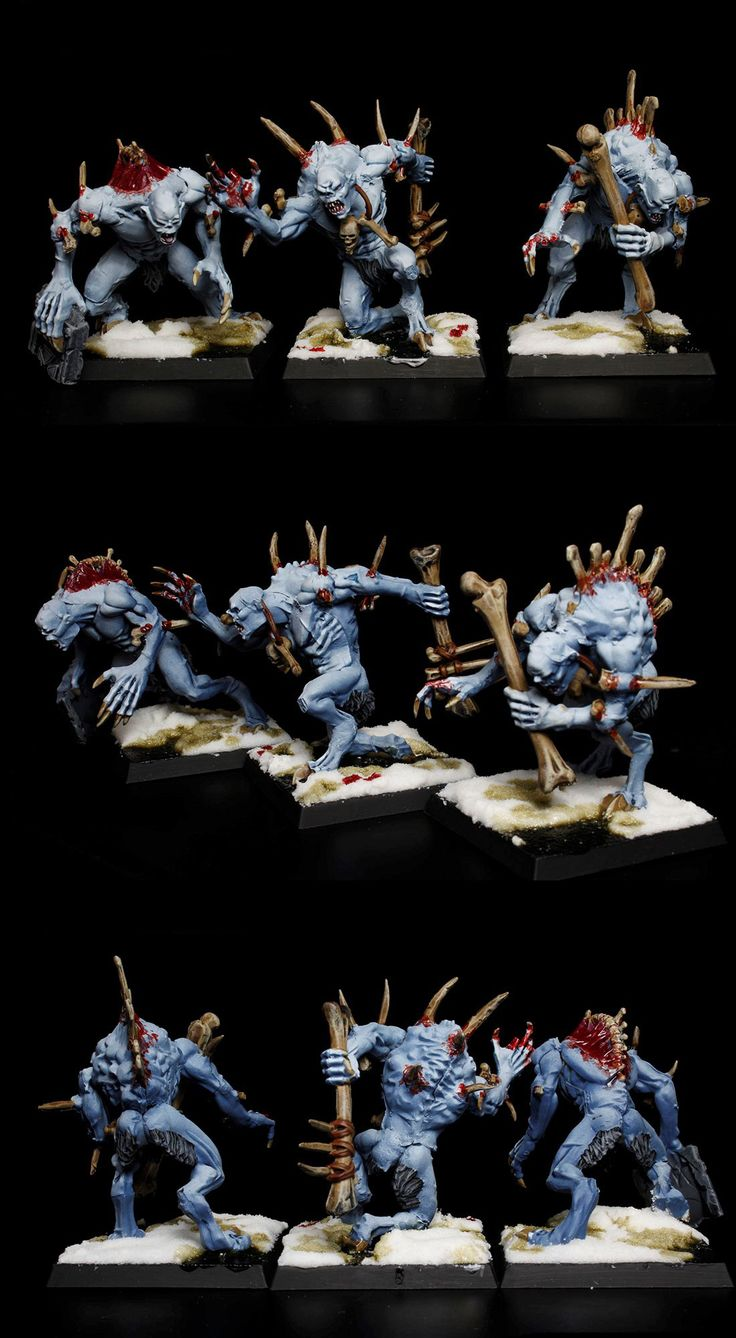 6 Crypt Horrors Vampire Counts Warhammer Master Painted