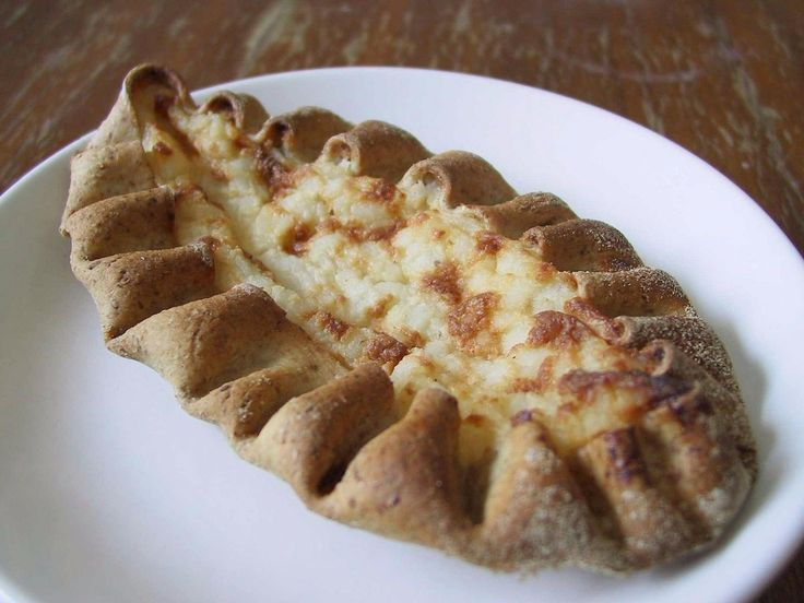 FINLAND: Karjalanpiirakka — or Karelian — pies are made from a thin crust and filled with rice before being topped with butter and boiled egg. There are also versions that have carrot or potato fillings.