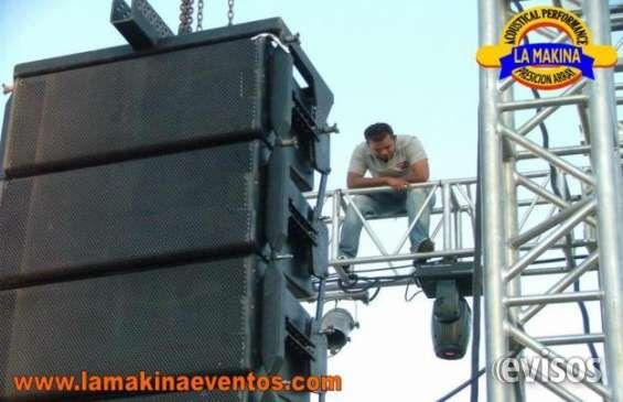 ALQUILER DE SONIDO PROFESIONAL EN BOGOTÁ NARANJA BLANCA PRODUCCIONES. ALQUILAMOS SONIDO  PARA PEQU .. http://bogota-city.evisos.com.co/alquiler-de-sonido-profesional-en-bogota-id-480751