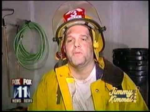hahahahahahaThe cannabis smoke slowly hits this firefighter while he gets interviewed about a fire where there were marijuana plants hahahahaha