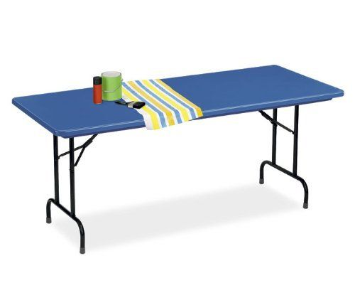 """R-Series Bright Colored 24x48 Folding Table (Yellow) (29""""H x 48""""W x 24""""D) by Correll. $101.95"""