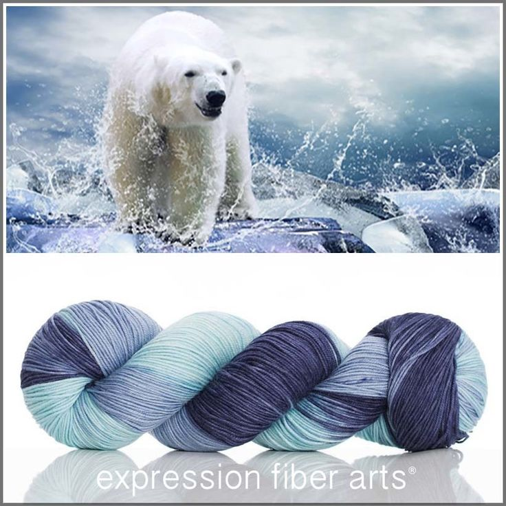 I'VE GOT THE BLUES Limited Edition 'RESILIENT' SOCK yarn by expression fiber arts