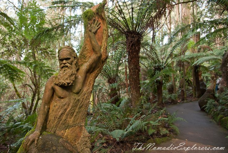 A nice hour out in the Dandenongs: William Ricketts Sanctuary