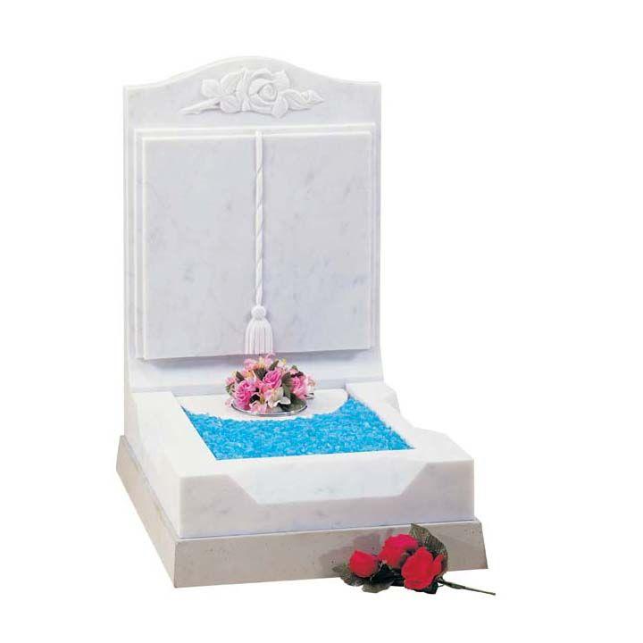 Mini Marble Kerb Bed