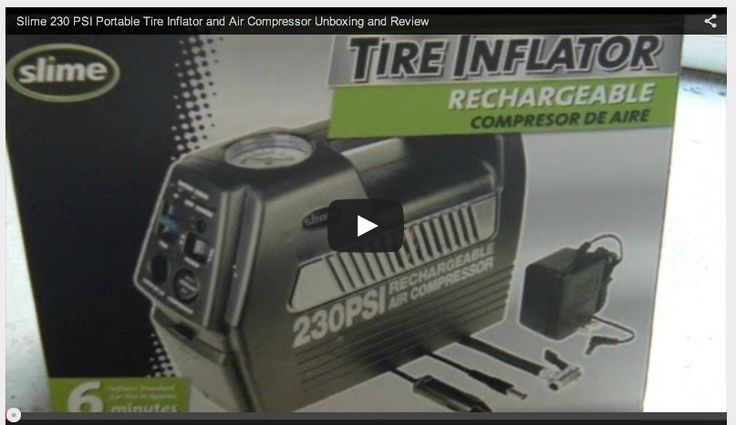 Unboxing the Slime 230 PSI Portable Air Compressor. This is a video walkthrough of unboxing the Slime 230 PSI Portable Air Compressor. Watch as the Slime 230 PSI Portable Air Compressor get unboxed.