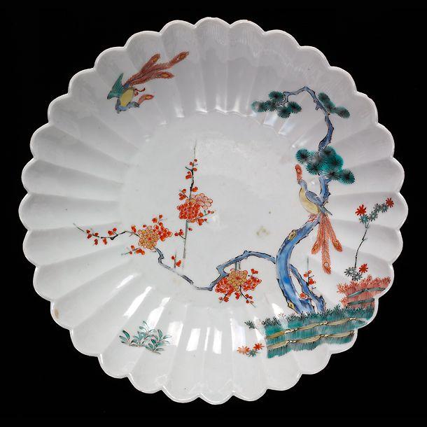 Japanese Ceramic Styles Kakiemon Style Bowl With Quot Three