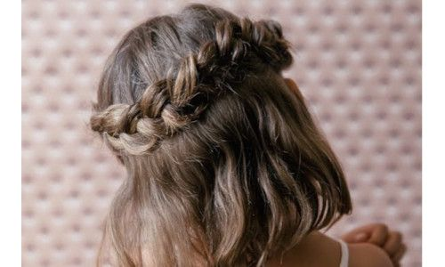 Cute Kid Hairstyles For Weddings: 17 Best Ideas About Little Girl Updo On Pinterest