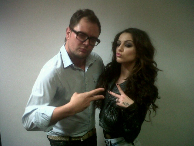 alan carr with cher<3<3<3<3