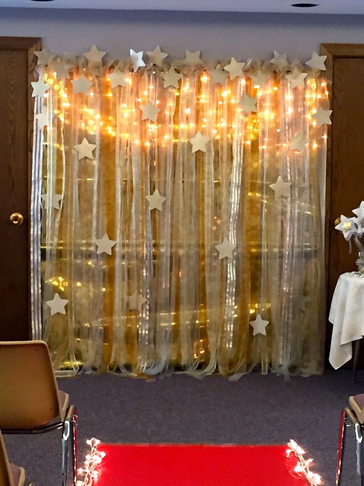 25 best ideas about star theme party on pinterest star for Backdrop decoration ideas