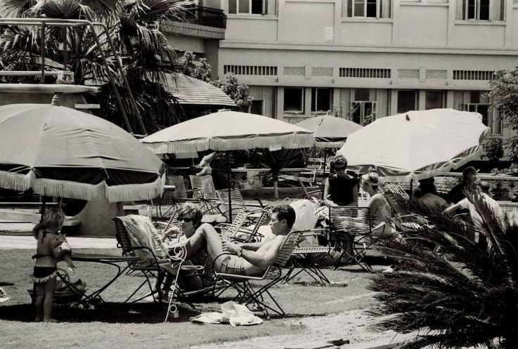 Hotel Girassol em Lourenço Marques, meados dos anos 60.