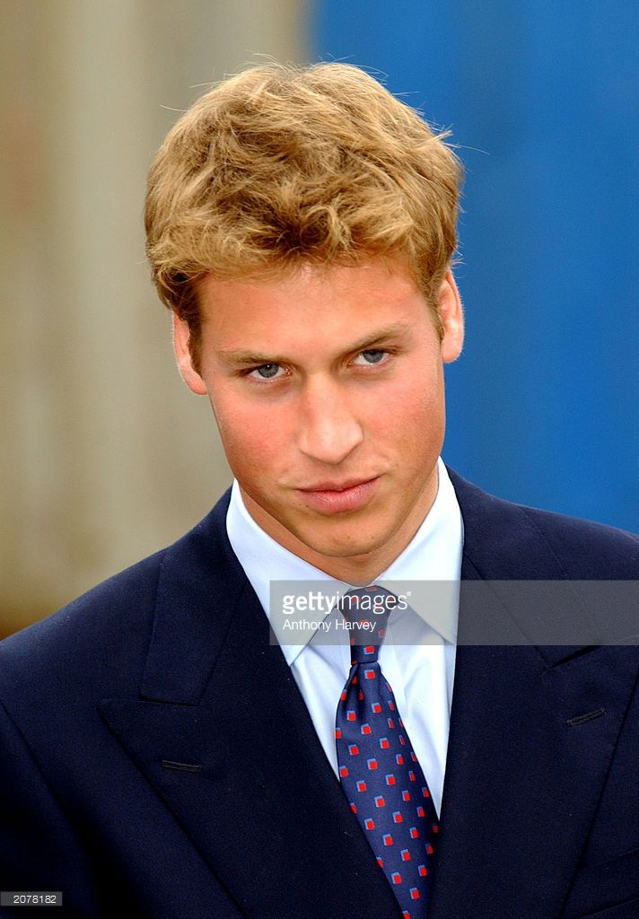 Britian's Prince William stands September 21, 2001 in Glasgow, Scotland. Prince William will celebrate his 21st birthday on June 21, 2003.