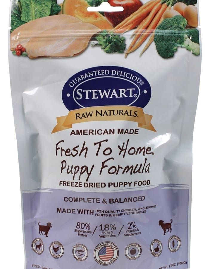 Raw Naturals Freeze Dried Puppy Food Provides Complete And Balanced Nutrition For All Breeds Rich In Omega 3 6 And Antioxid Food Dog Food Recipes Puppy Food