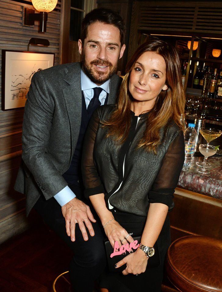 Pin for Later: See All the Celebrities at London Fashion Week Jamie and Louise Redknapp At the Tracey Emin and Stephen Webster jewellery launch.
