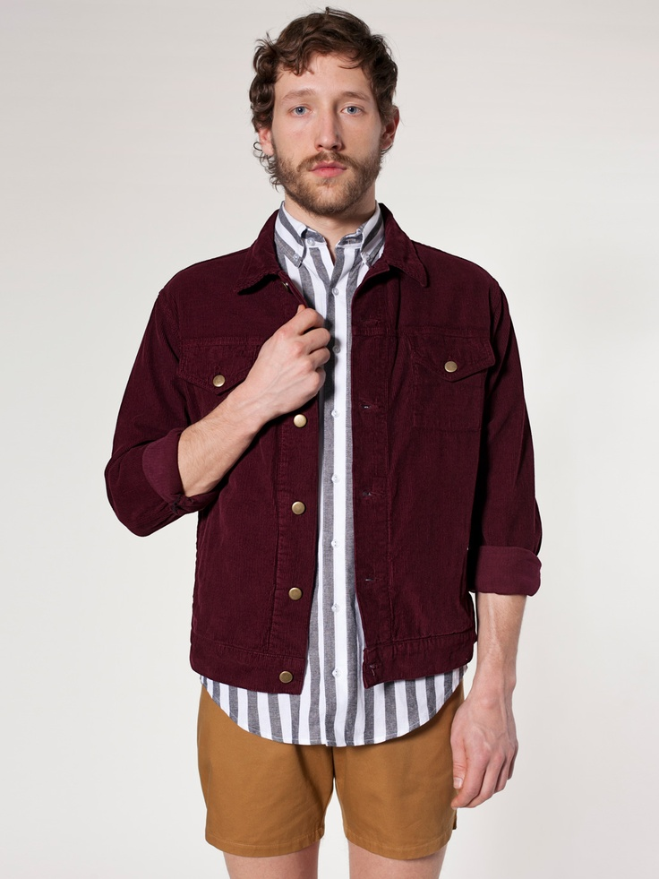 Corduroy Jacket | Jackets | Men's Outerwear | American Apparel