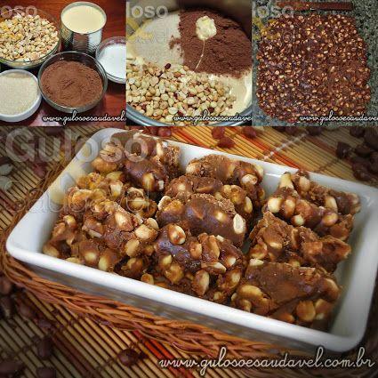 A dica de doce este Pé de Moleque! É um delicioso nougat é muito fácil de preparar e faz a alegria de baixinhos e grandinhos.  #Receita aqui => http://www.gulosoesaudavel.com.br/2012/06/22/pe-moleque/