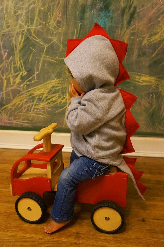 Dinosaur Jacket With Tail