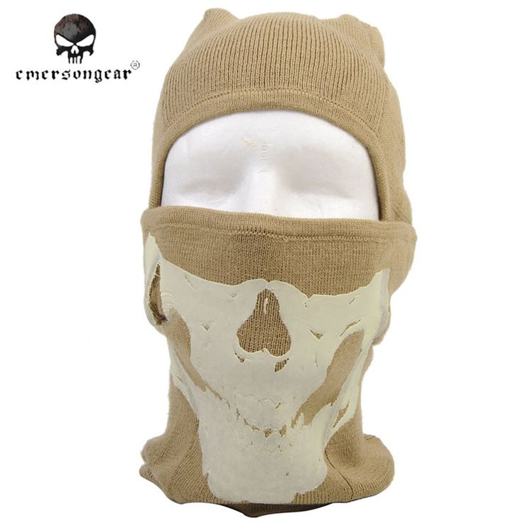 Emersongear Outdoor Riding Sport Wool Mask Hat For Men Fleece Hat Women Ski Hat Cap Chapeu Feminino Winter Warm Protected Face