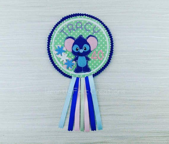 Blue Koala Bear Personalised Celebration Birthday Badge