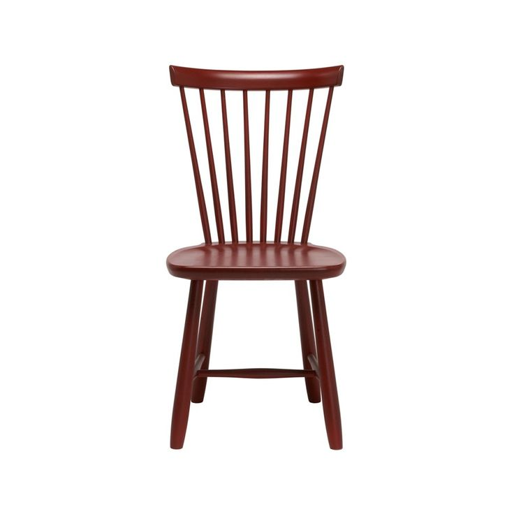 Lilla Åland stol - Lilla Åland stol - röd bets 53