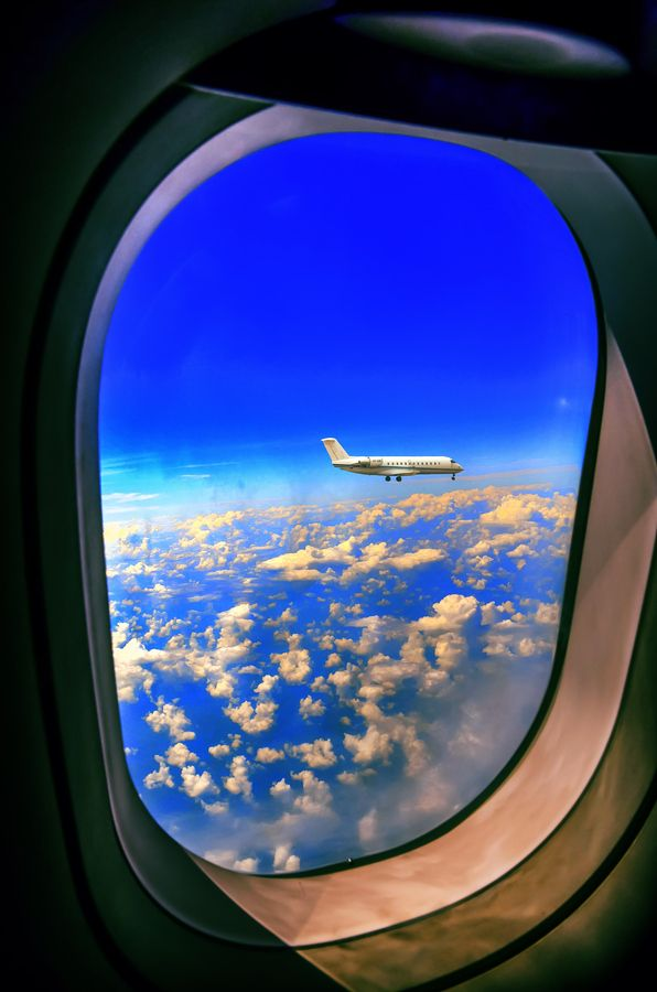 : Windows From, Aircraft, Airplane View, Supervised Photoshoot, Airplane Window, Photography
