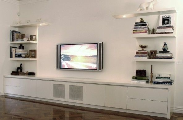 lowline entertainment units black brisbane - Google Search