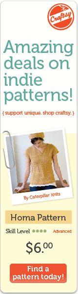 Craftsy Indi Crochet, Knitting and other craft Patterns!