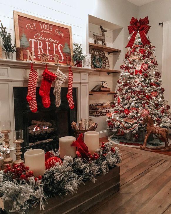 Nice 50 Charming Traditional Christmas Tree Decor Ideas More At Https Homystyle Com 2 Christmas Crafts Decorations Christmas Decorations Christmas Fireplace
