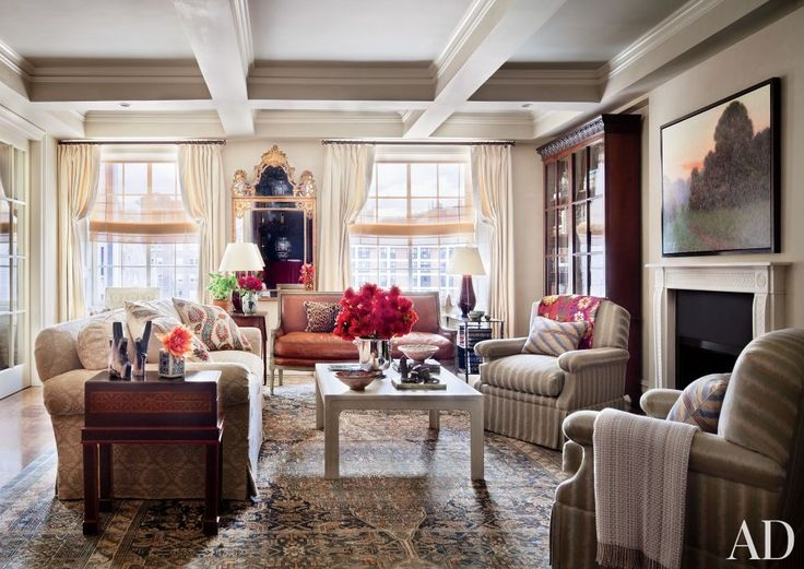 Ali Wentworth And George Stephanopoulos Manhattan Home By Michael S. Smith.  [Blog]