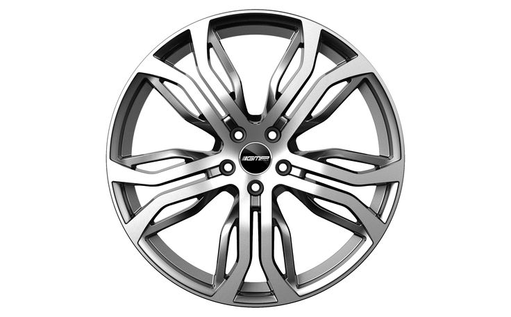 Dynamik Anthracite Diamond Professional Alloy wheel / Cerchio in lega professionale Dynamik Antracite Diamantato Front