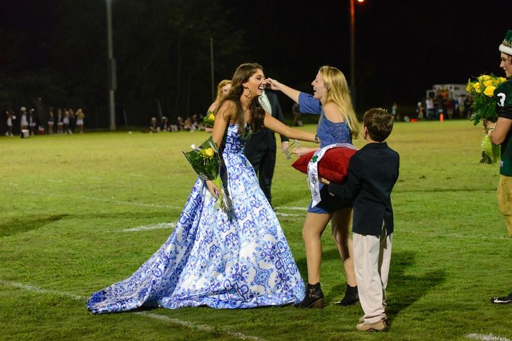 Emmakate Few winning Homecoming Queen in this beautiful Mac Duggal gown STYLE 30274!