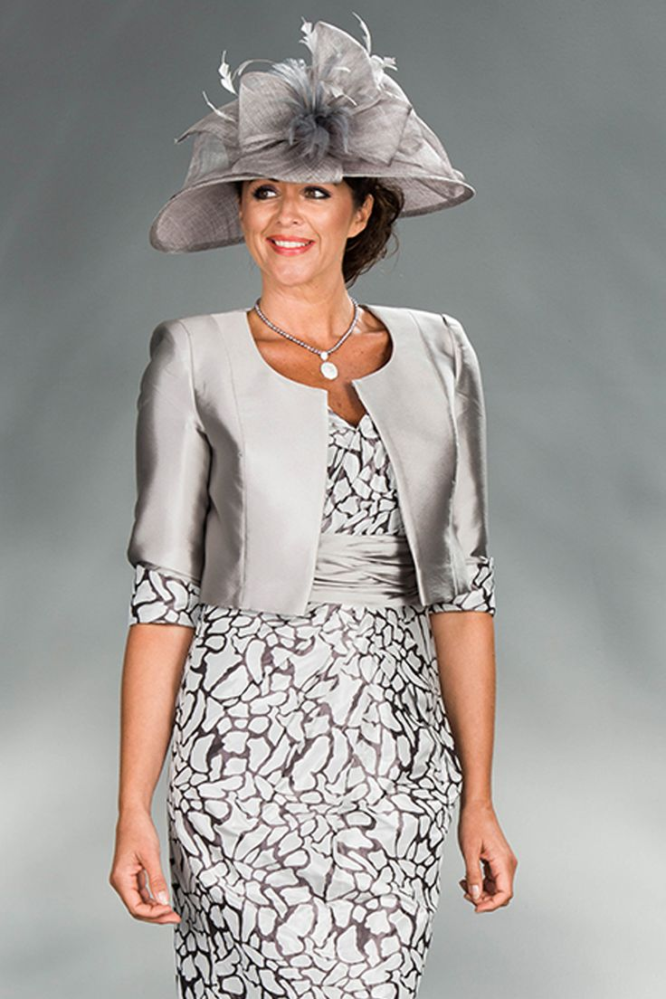 Cabotine short dress jacket 4993745 catherines of for Dress and jacket outfits for weddings