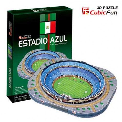 "3D ""Estadio Azul"" DIY Jigsaw Puzzles"