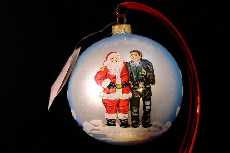 "Klassics by Kurtis, Inc. - Santa with Air Force Ranger 10 Cm (Approx. 4""), $30.00 (http://stores.klassicsbykurtis.com/santa-with-air-force-ranger-10-cm-approx-4/)"