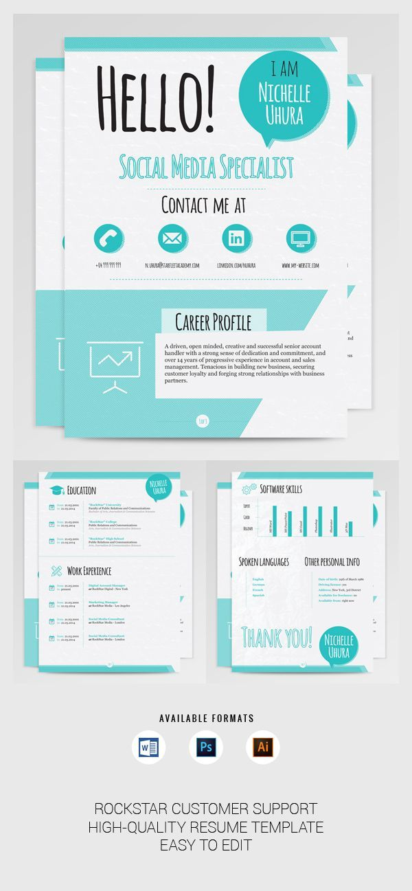 Best 25+ Job resume format ideas on Pinterest Cv format for job - winning resume templates