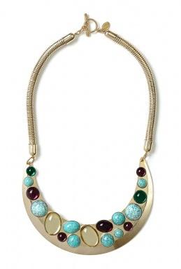 Anton Heunis   Multi Stone Bib Necklace by Anton Heunis