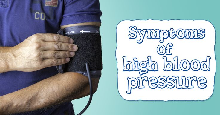Symptoms of #high #blood #pressure - Anxiety - A severe headache - Nosebleed - Shortness of breath - Chest pain - blurred vision and dizziness