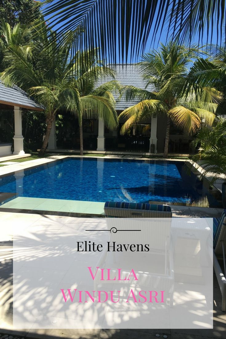 This Bali villa in Seminyak is perfect with the kids with a pool fence on site. We loved looking through for Elite Havens.