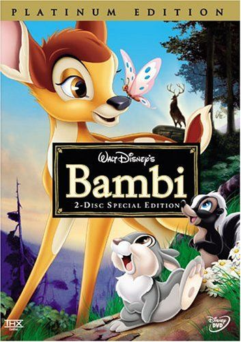 Bambi (Two-Disc Platinum Edition) - Disney Movie DVDs are the best gifts you can present to your children, they really enjoy watching them over and over.