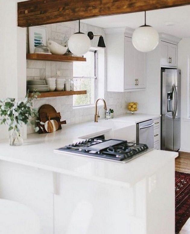 50+ White Kitchen Ideas Small_6