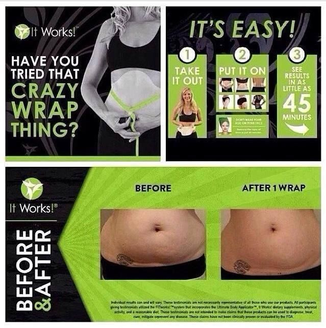 Get your wrap on! Have you tried that crazy wrap thing? https://www.facebook.com/notes/it-works-distributor-new-life-body-wraps/it-works-loyal-customer-program-reviews/731801483516348 ◄ #NewLifeBodyWraps