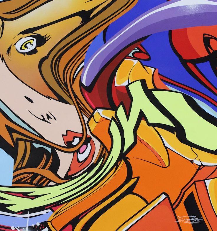 PRO176 - NEUTRON WIND - GALERIE ZIMMERLING & JUNGFLEISCH  http://www.widewalls.ch/artwork/pro176/neutron-wind/ #Painting