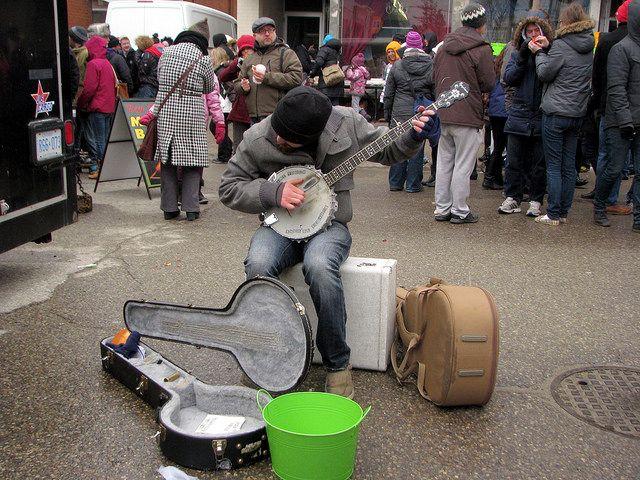 Maple Syrup Fest Banjo Busker | Flickr - Photo Sharing!